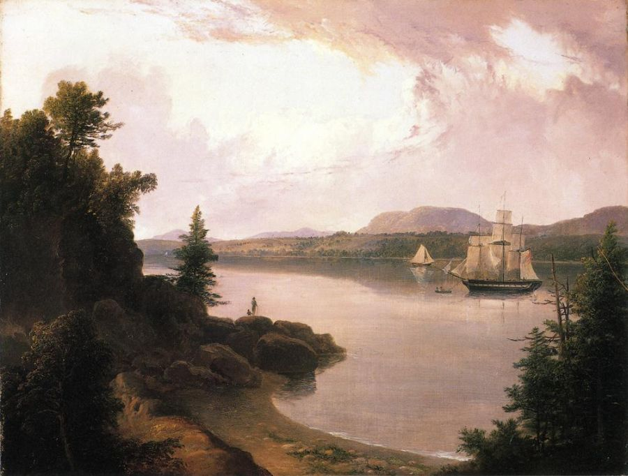 View on the St. Croix River near Robbinston